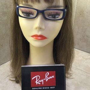 Ray-Ban authentic women's eyeglasses Blue Gray